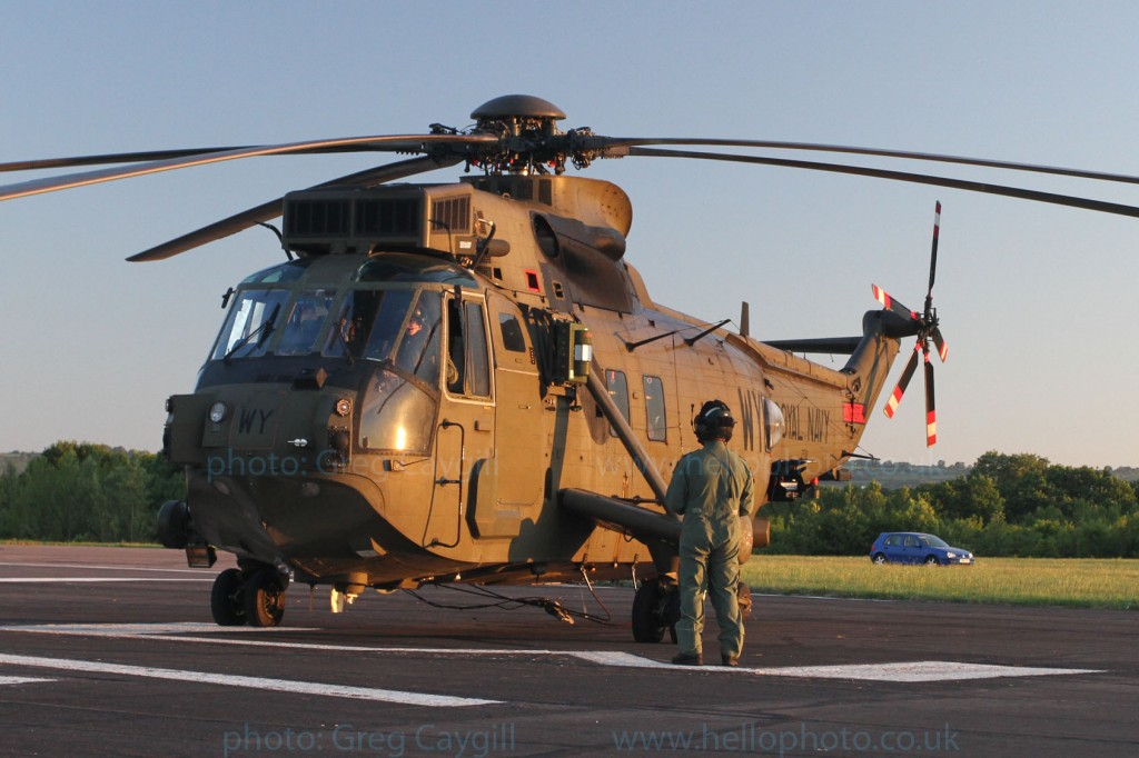 Sea King: WY, from RNAS Yeovilton. img 3100