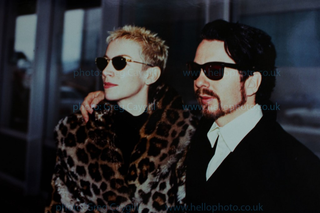 Eurythmics in 1995,