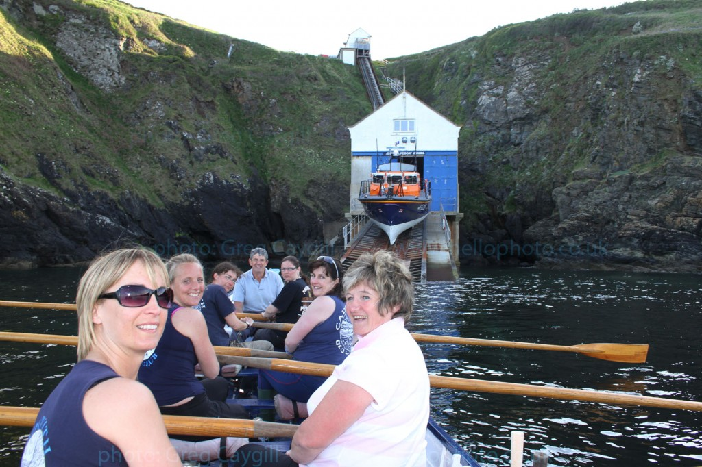 Cadgwith Gig Club, by the old Lifeboat Station, 13 May 2010 ing0073_1
