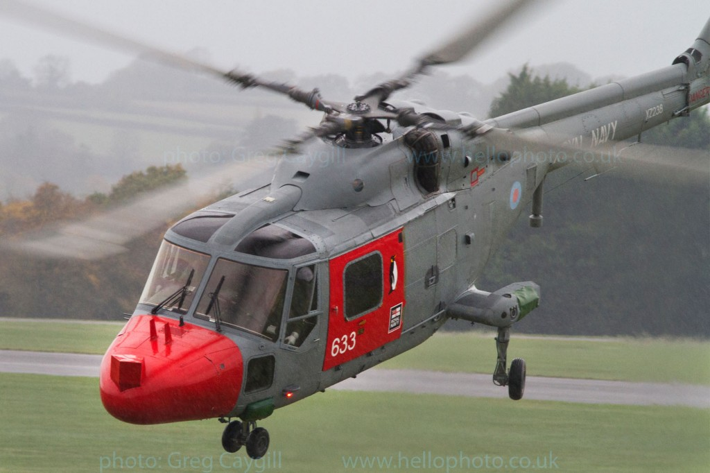 Lynx_632_702sqn. in heavy rain. 2 Nov 2011. img1783v2