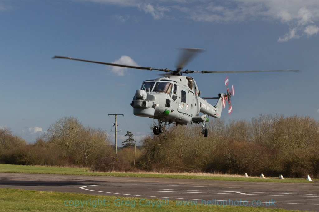 Lynx 642 from 702 Sqn. taking off 7.3.2012 img 8288