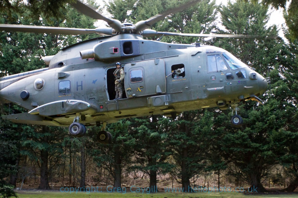 RAF Merlin H/ZJ12428 Sqn. at RNAS April 2012 img8385v4