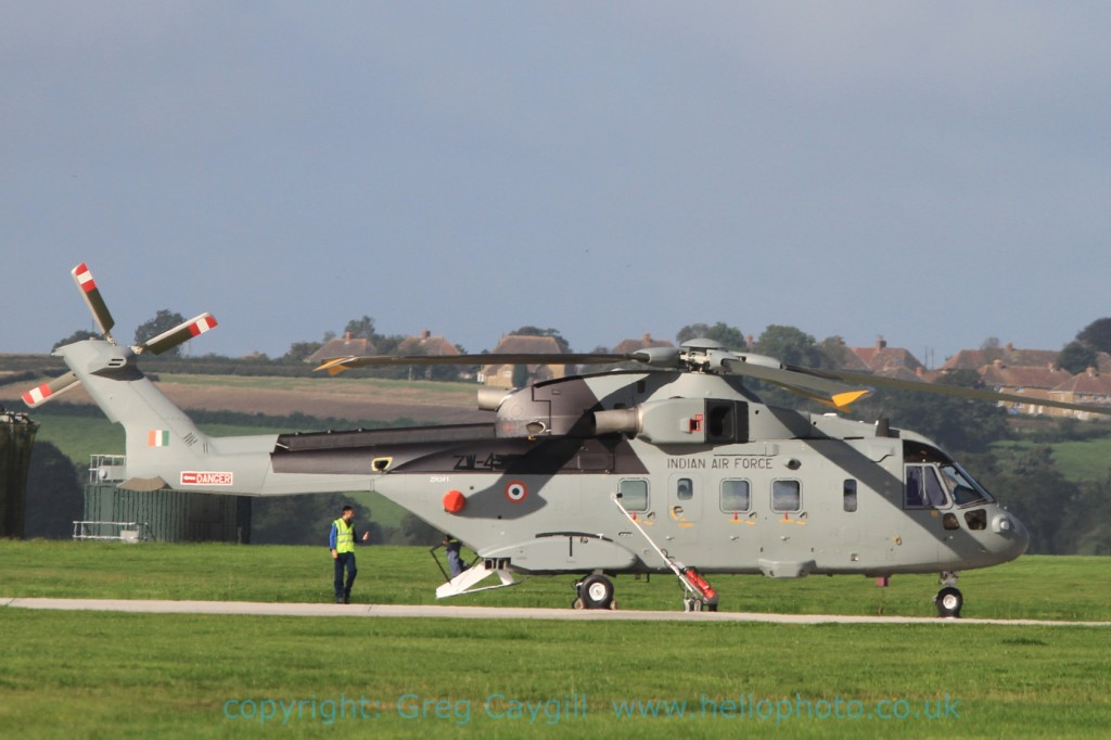 Indian Merlin ZR341 ZW4313, Sept. 2012