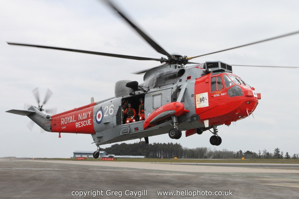 Opening of Classic Air Force, 771 Sqn NAS Seaking