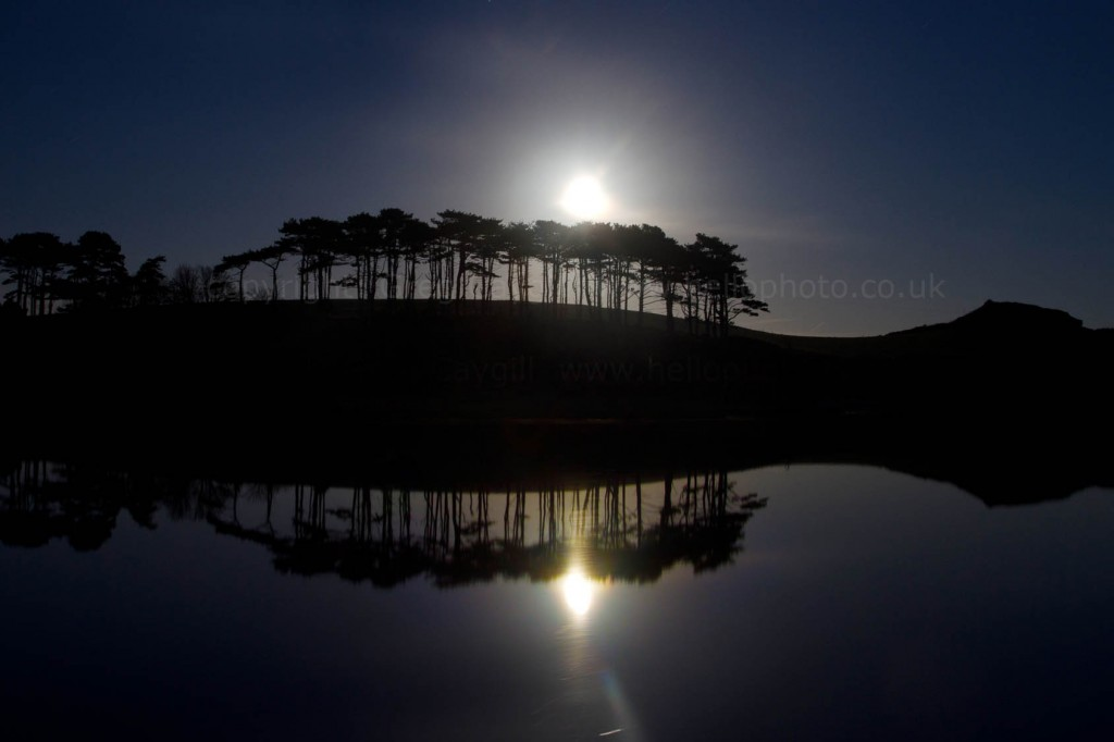 Full moon reflection, Image: BS1