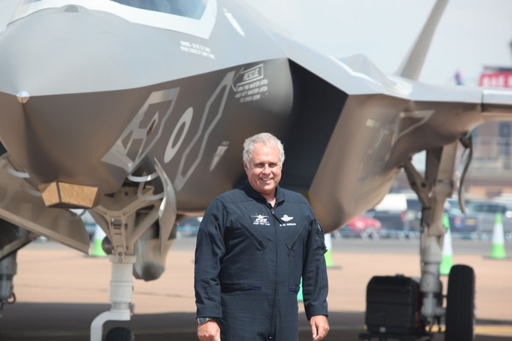 Lockheed Martin F-35, seen here at the Lockheed Martin F-35,10 July 2014, RAF Fairford.
