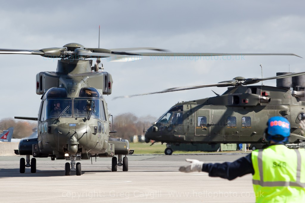 845 NAS return to RNAS Yeovilton with Merlin Mk3. 26 March 2015