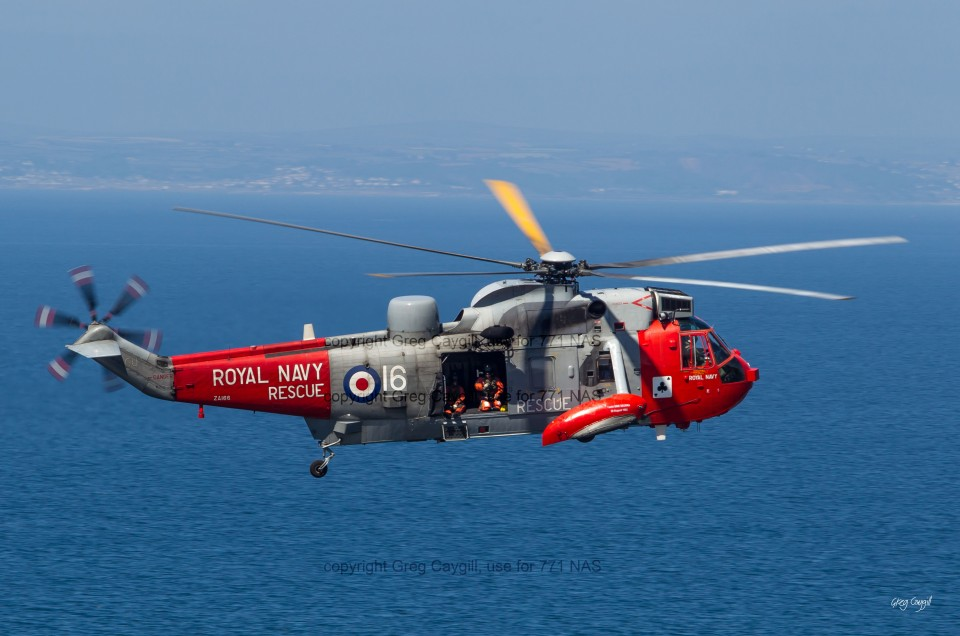 RN 771 over Cornish Sea July 2015