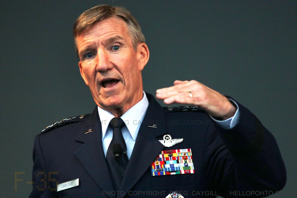 Gen Hawk Carlisle, US Air Force