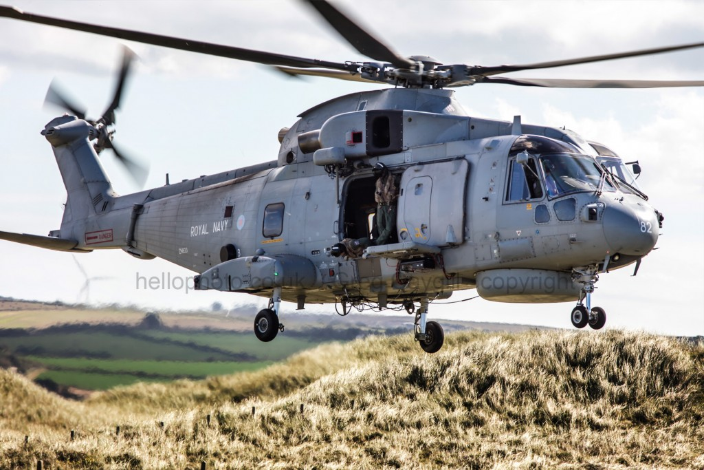 Merlin 824 NAS from NAS Culdrose cab 82,  Visit 1, 22 09 2016
