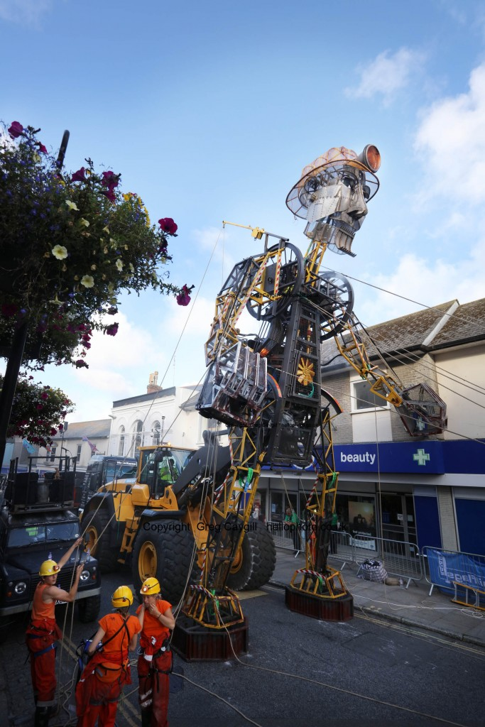 Man Engine, Penzance. Image 3553